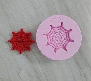 Molde de silicone Teia De Aranha / Homem aranha