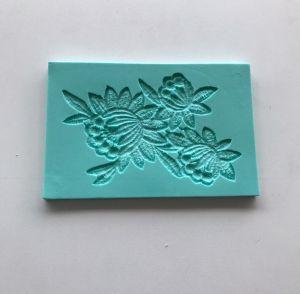 Molde de silicone de Renda/ Flores