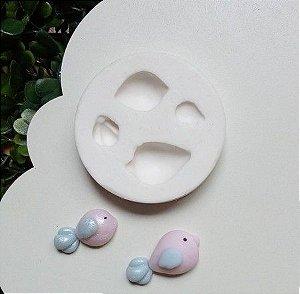 Molde de silicone de Pássaros- Jardim (Modelo 5)