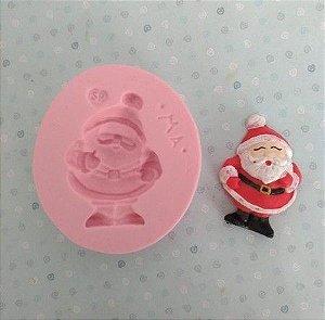 Molde de silicone do Papai Noel / Natal