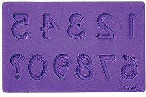 Molde de silicone de Números (Modelo 2)