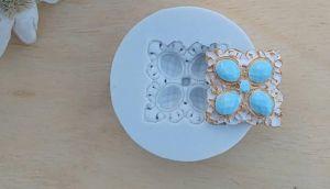 Molde de silicone de Joias- Aladdin (Modelo 1)