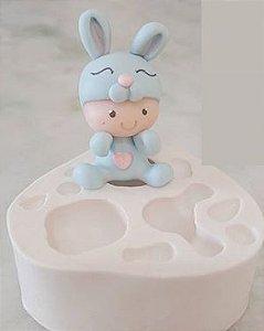 Molde de silicone de Floresta Baby molde universal