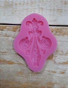 Molde de silicone Flor de Lis