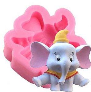 Molde de silicone de Elefante Baby Dumbo