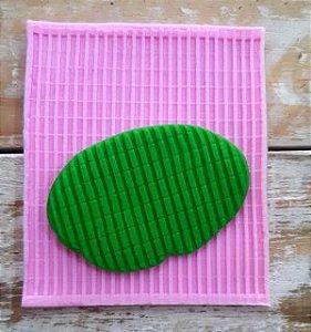 Molde de silicone Textura de Listras