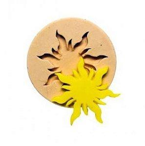 Molde de silicone de Sol / rapunzel