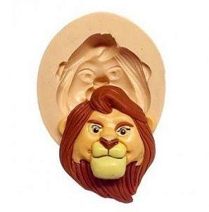 Molde de silicone  Rosto do Rei Leão