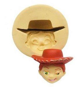 Molde do Toy Story - Rosto da Jessie