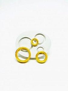 Molde de silicone de Anéis do Sonic
