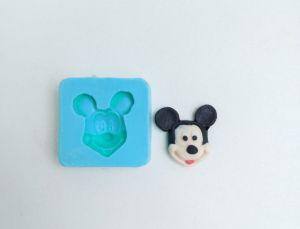 Molde Mini Rosto do Mickey