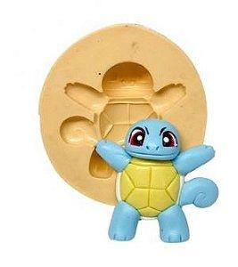 Molde de silicone de Pokemon - Squirtle