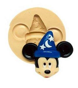 Molde de silicone  Rosto do Mickey Fantasiado