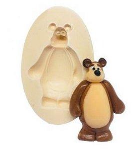 Molde de silicone do Urso- Tema Masha e o Urso (Modelo 2)