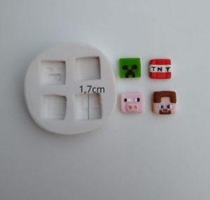 Molde de silicone do Lego