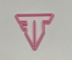 Cortador 3D Logo Transformers 5 cm