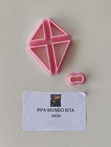 Kit Cortador de Pipa 3D- Mundo Bita