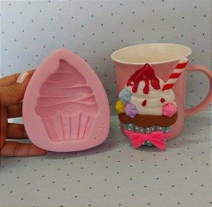Molde de silicone de Cupcake- Tamanho GG