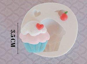 Molde de silicone de Cupcake