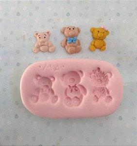 Molde de silicone de Mini Ursos
