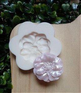molde de silicone da Peônia
