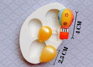 Molde de silicone de Mini Balões
