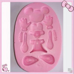 molde de silicone da Minnie/ Mickey 3D