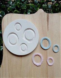Molde de silicone de Mini Moldura (Modelo 7)