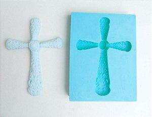 Molde de silicone de Cruz / batizado