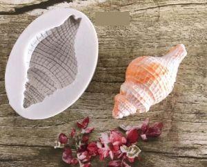 Molde de silicone de Concha Grande fundo do mar
