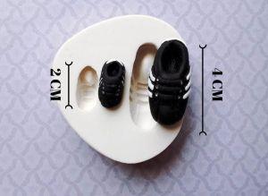 Molde de silicone de Chuteiras futebol