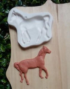 Molde de silicone de Cavalo/ Fazendinha