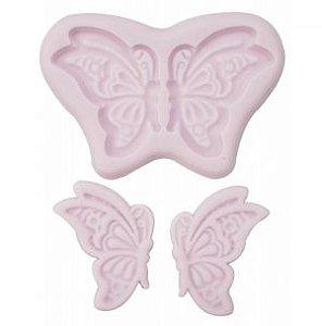molde de silicone de Borboleta