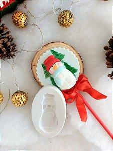 molde de silicone de Boneco de Neve- Natal