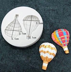 Molde de silicone de Dois Balões