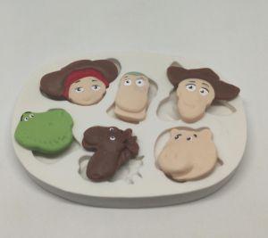 Molde de silicone Personagens do Toy Story