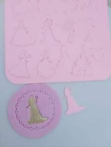 Marcador de Acrílico Princesas da Disney/ Mickey
