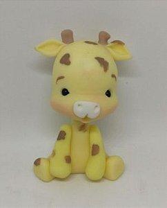 Girafa de biscuit para enfeite de festa / Mimo de luxo