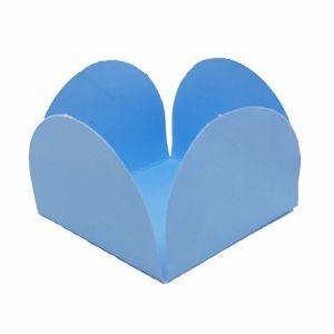 Formas p/ Doce 4 Pétalas Azul Claro