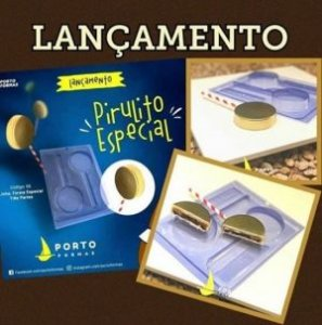 Forma Especial Pirulito C/ Quina (55) - Porto Formas