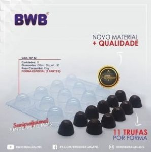 Forma Especial para Chocolate BWB SP42 (3502)