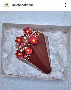Forma de Chocolate Ovo Diamante 500g BWB (852)