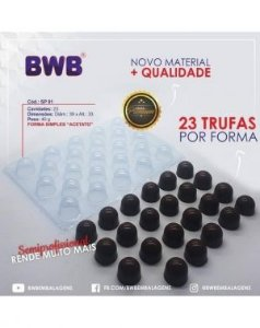 Forma de Acetato BWB 3504 SP91 Simples