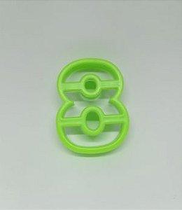 Cortadores de Números 8 Verde