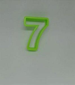 Cortadores de Números 7 Verde