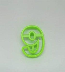 Cortadores de Números 6 / 9 Verde
