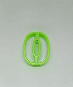Cortadores de Números 0 Verde
