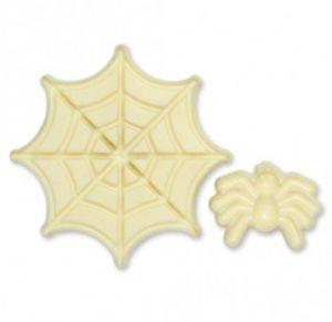 Cortador teia de aranha e aranha