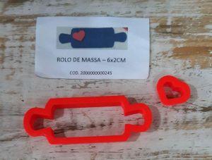 Cortador Rolo de Massa (6 x 2 cm)