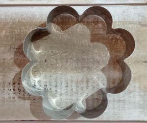 Cortador Aro Flor 8 x 8 cm